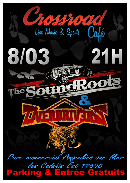 CONCERT : The Soundroots + Overdrivers