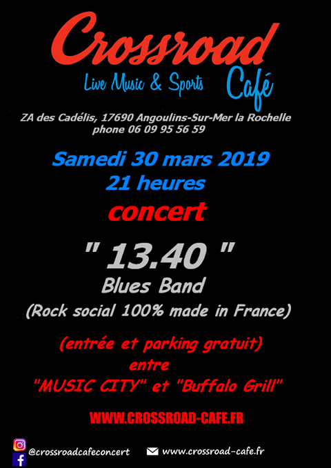 CONCERT : 13.40 Blues Band