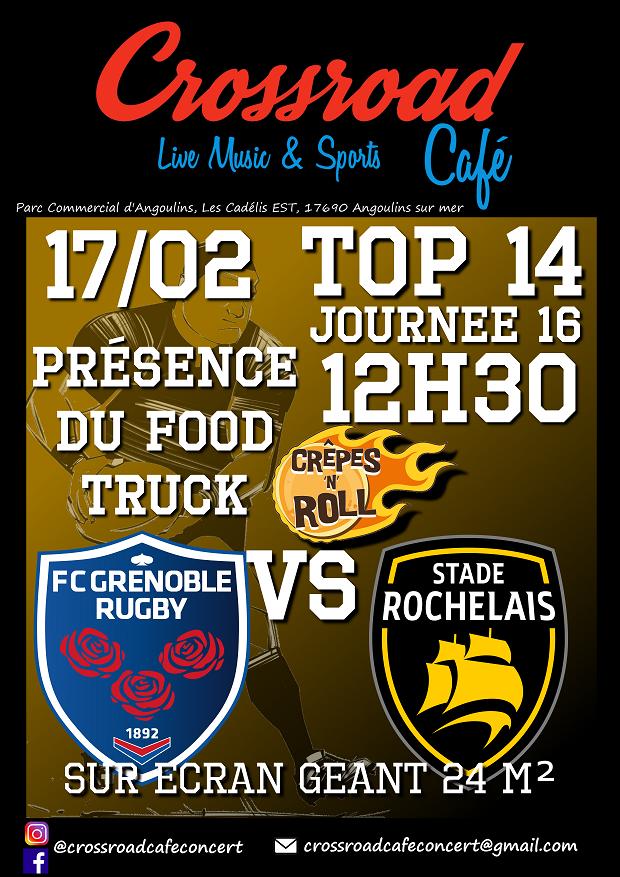 RUGBY TOP 14 Grenoble – La Rochelle