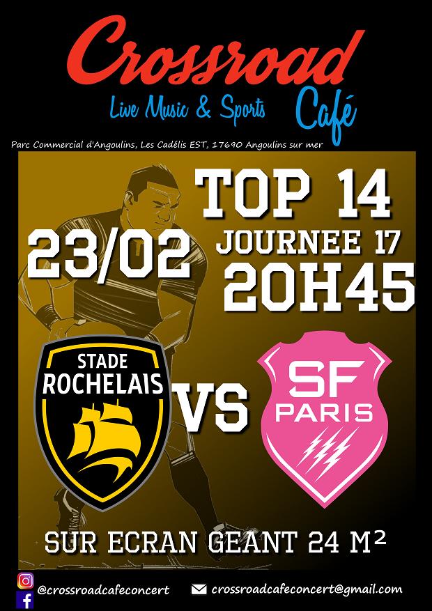 RUGBY TOP 14 La Rochelle – Stade Français
