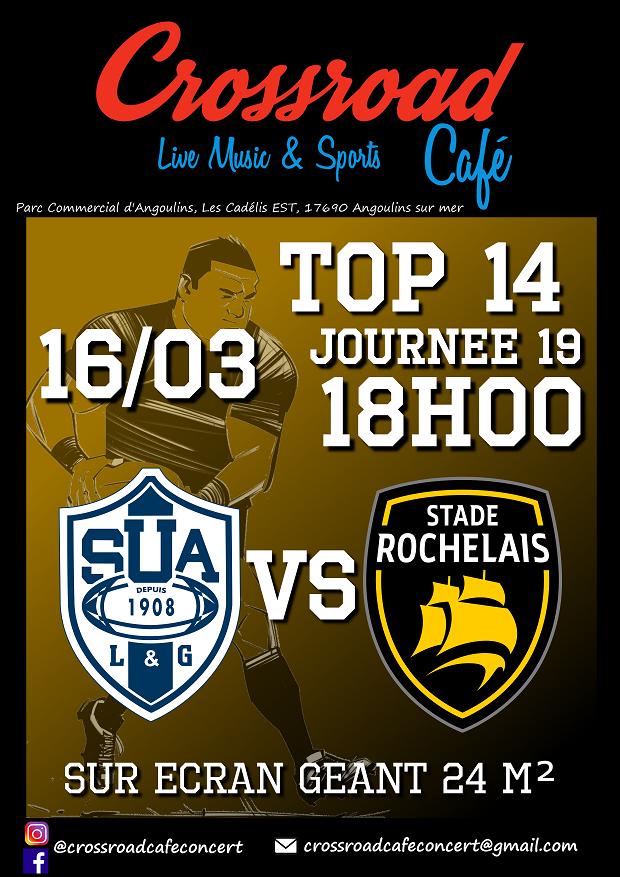 RUGBY TOP 14 Agen – La Rochelle