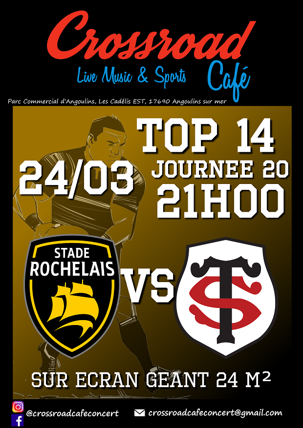 RUGBY TOP 14 La Rochelle – Toulouse