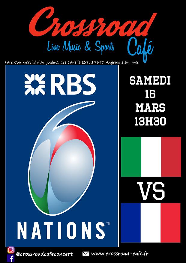 Tournoi des 6 Nations : Italie - France