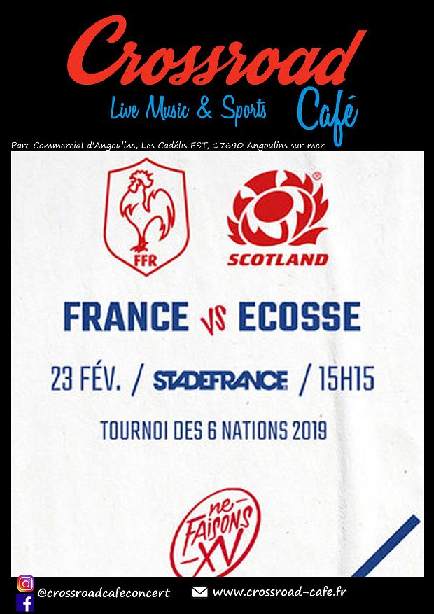 Tournoi des 6 Nations : France - Ecosse