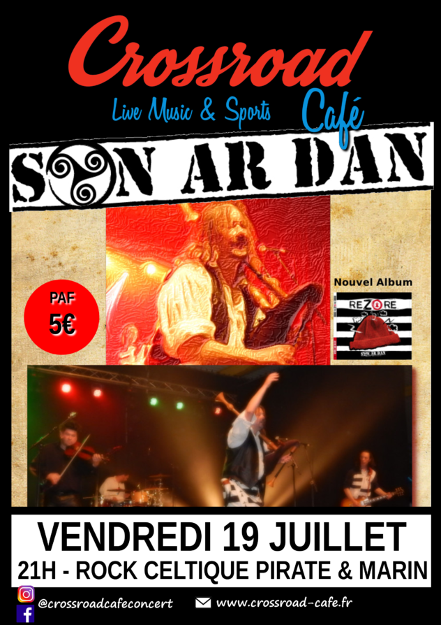 Summer Fest : Son Ar Dan - Rock Celtique - 5€
