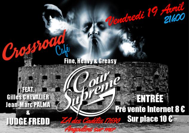 Concert : Cour Suprême - Fine, Greasy Rock/Paris