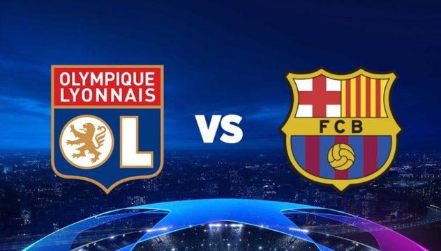 LIGUE DES CHAMPIONS 8ème Retour : Barca - Lyon
