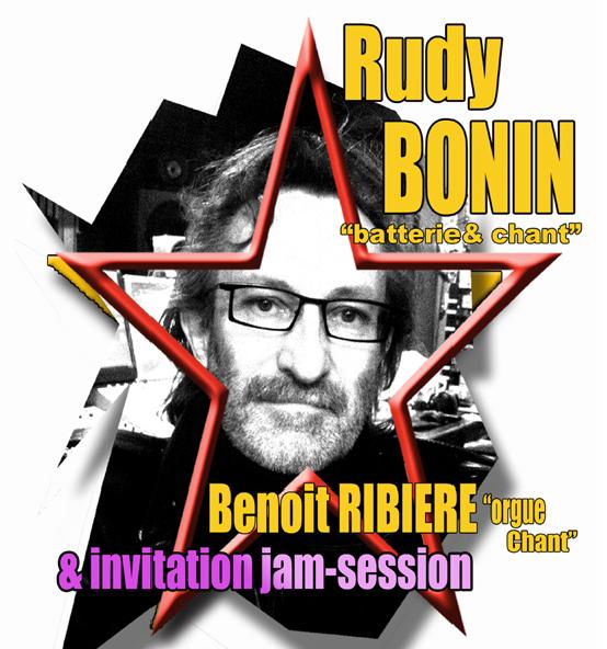 Jam Jazz avec Rudy Bonin et Benoit Ribière 4ème édition !