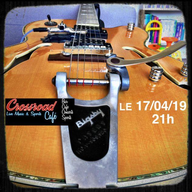 Jam Blues au Crossroad Café