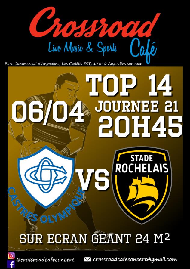 TOP 14 Castres - La Rochelle