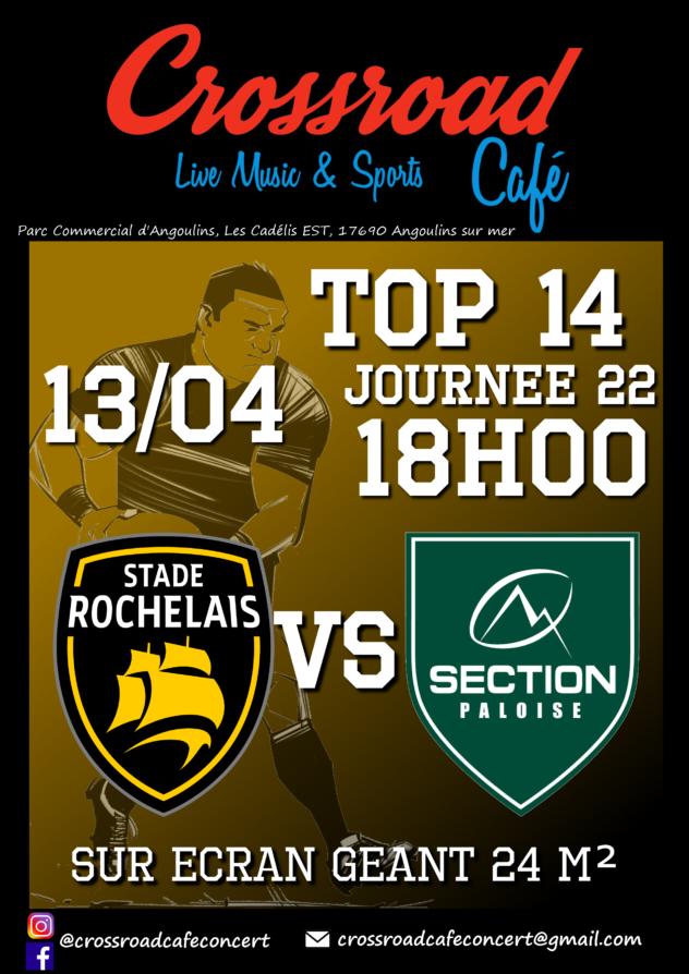 TOP 14 La Rochelle - Pau