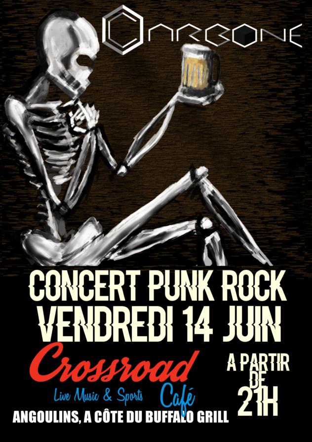 Concert : Carbone / Rock Punk / Entrée Gratuite