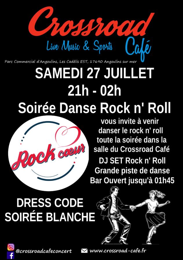 Soirée Rock ! Soirée Dansante !