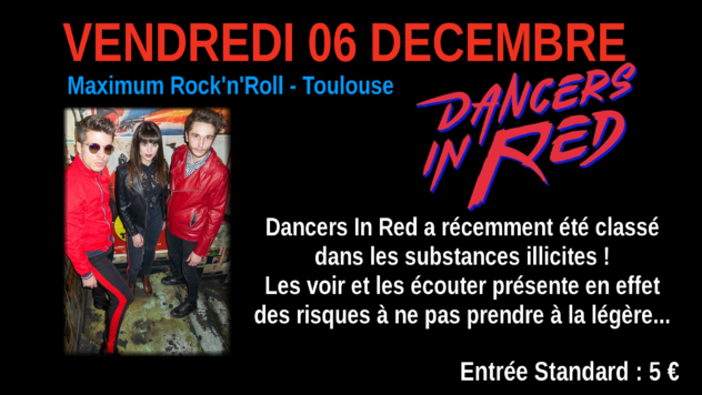 Dancers In Red : Live au Crossroad Café (5€)
