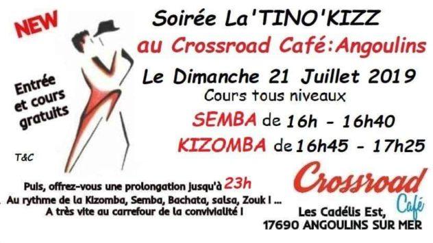 Dimanche La'tino kiz Au Crossroad Café