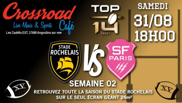 TOP 14 Journée 2 : Stade Rochelais - Stade Français