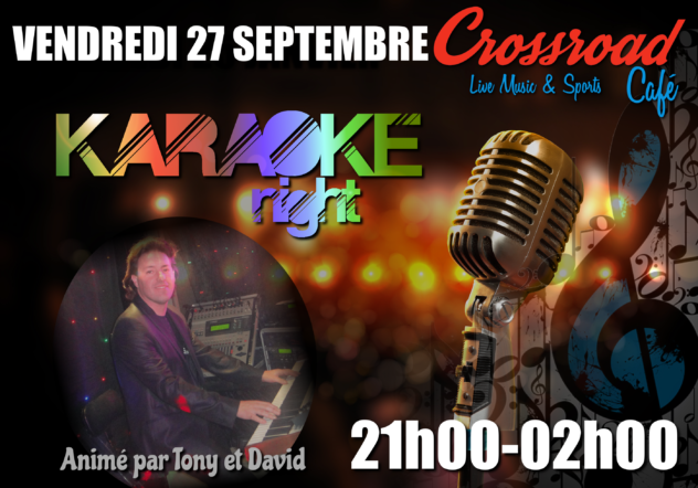 Karaoké Night avec Tony & David !