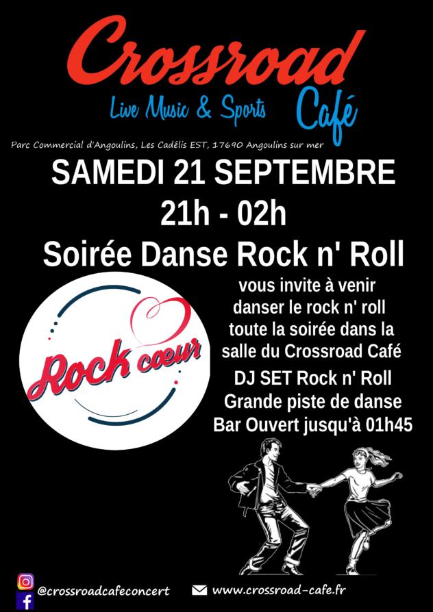 Soirée Rock avec Rock Coeur !