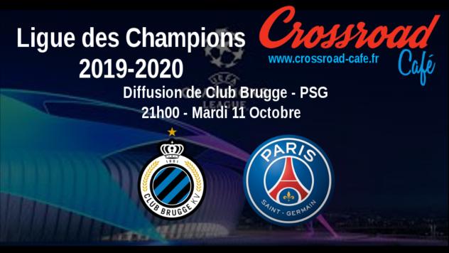 Ligue des Champions : Club Brugge - PSG