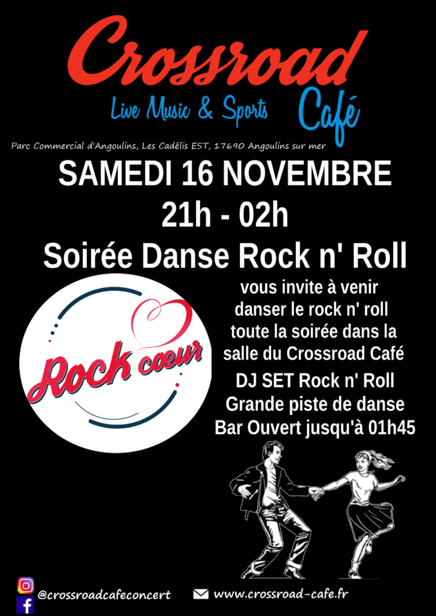 Soirée Danse Rock n' Roll avec Rock Coeur