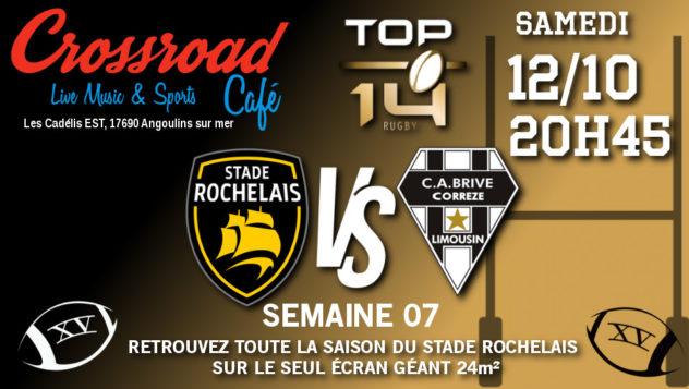 TOP 14 Journée 7 : La Rochelle - Brive