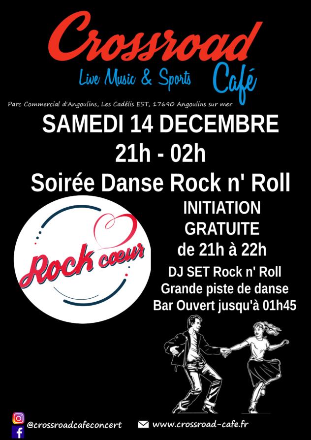 Soirée Danse Rock'n'Roll avec l'asso Rock Coeur !