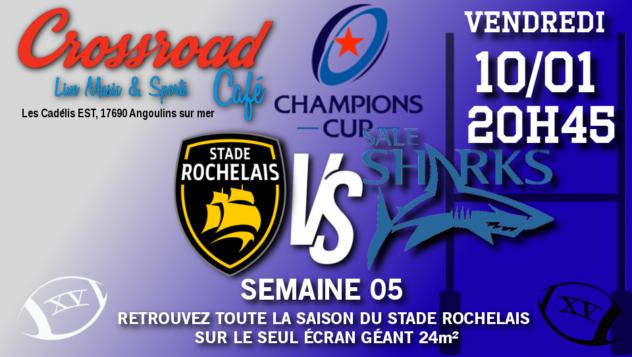 Champions Cup Journée 05 : La Rochelle - Sale