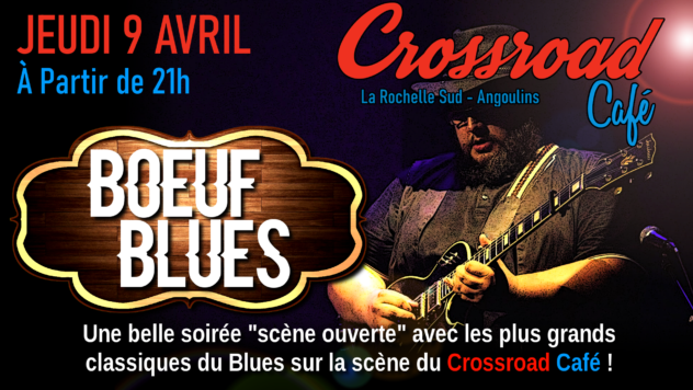 Boeuf de Blues avec Quentin Winter