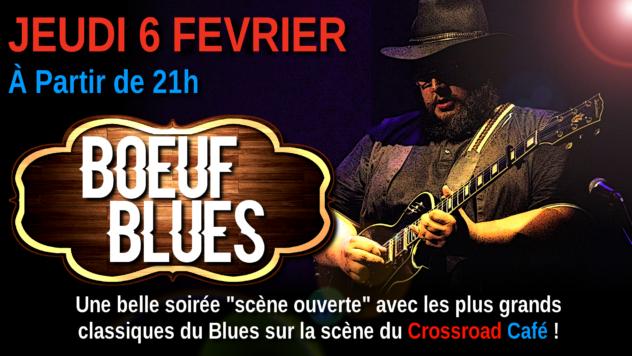Boeuf de Blues avec Quentin Winter et Cyril Babin