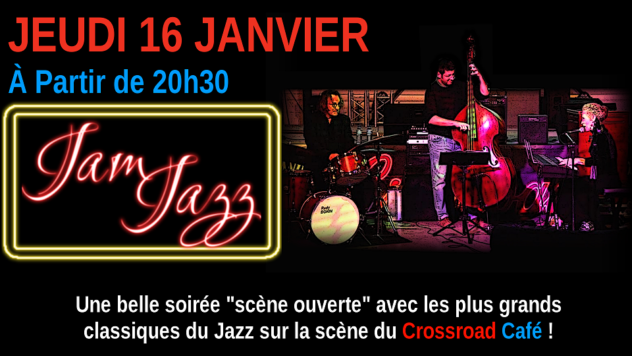Jam Jazz avec Benoît Ribière et Rudy Bonin