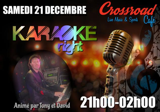 Karaoké Night de Noël avec Tony & David