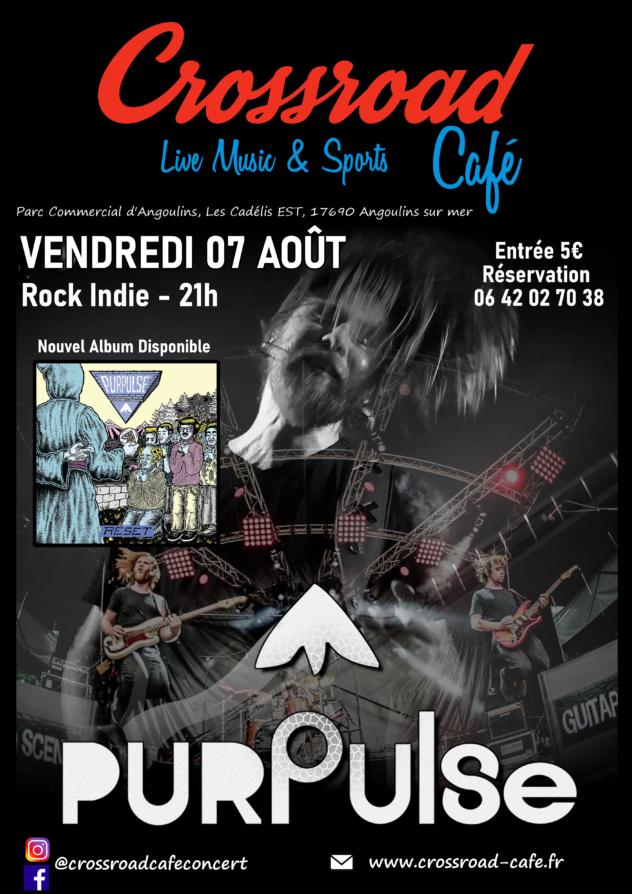 Purpulse - Live au Crossroad Café (entrée 5 €)