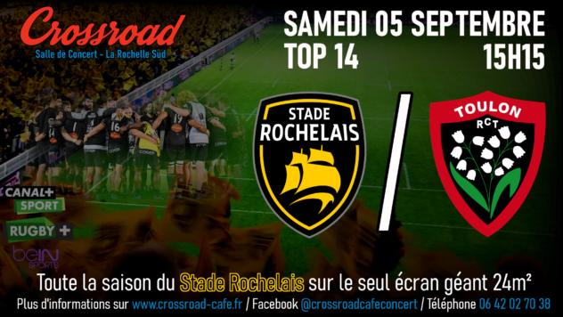 TOP14 Journée 1 : La Rochelle - Toulon