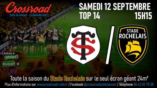 TOP14 Journée 2 : Toulouse - La Rochelle