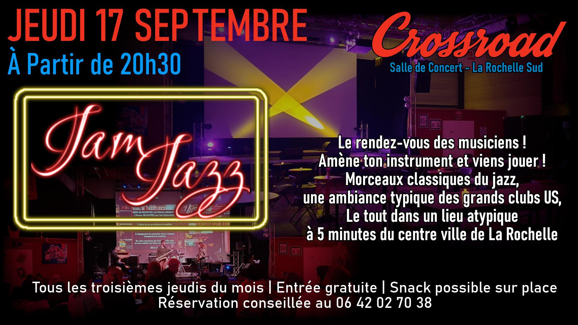 Jam de Jazz de Septembre 2020