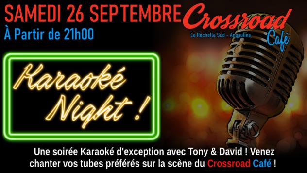 Karaoké Night de Septembre 2020