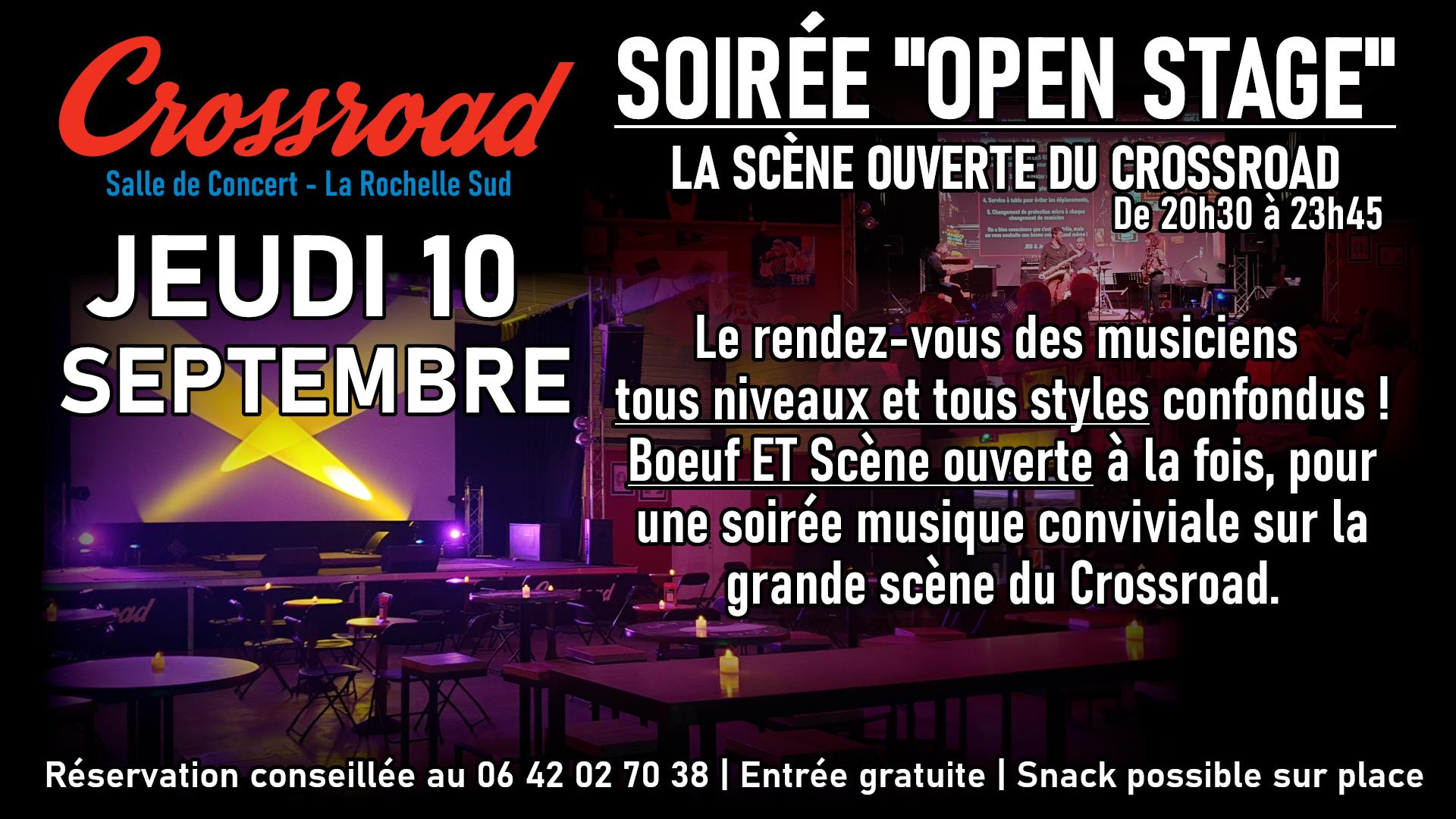 Open Stage de Septembre 2020