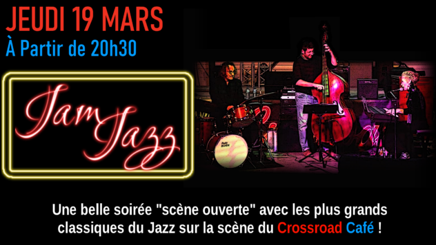 Jam Jazz avec Rudy Bonin et Benoît Ribière