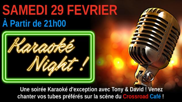 Karaoké Night avec Tony & David