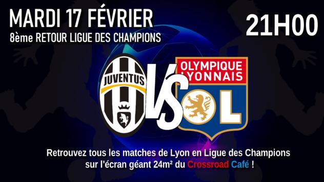 ! REPORTE ! Ligue des Champions : 8ème Retour : Juventus - Lyon
