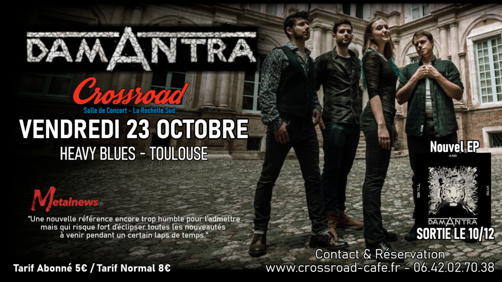 Damantra - Heavy Blues - Live au Crossroad