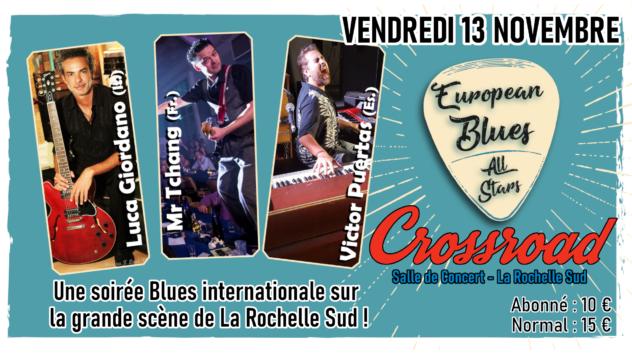 European Blues All-Stars - Live au Crossroad