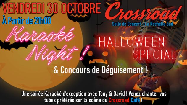 Karaoké Night Déguisé Spécial Halloween !