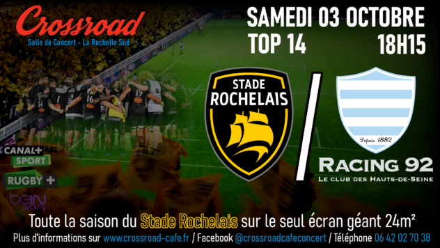TOP14 Journée 03 : La Rochelle - Racing 92