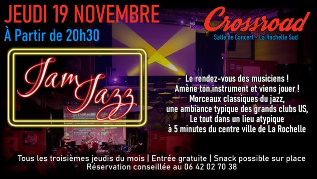 Jam de Jazz de Novembre 2020