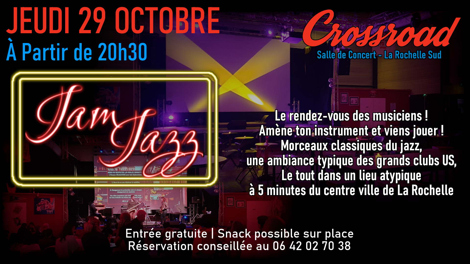 Jam de Jazz d'Octobre 2020