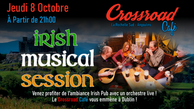 Irish Session d'Octobre 2020
