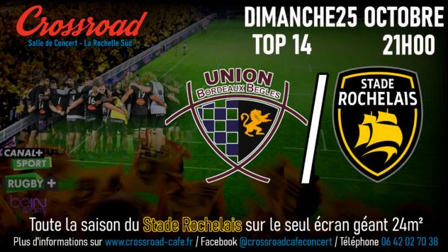 TOP14 Journée 6 : Bordeaux - La Rochelle