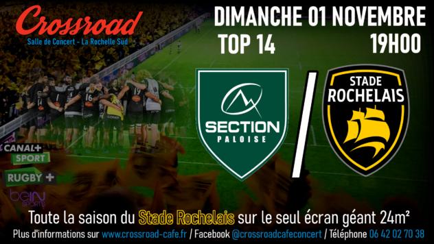 TOP14 Journée 7 : Pau - La Rochelle