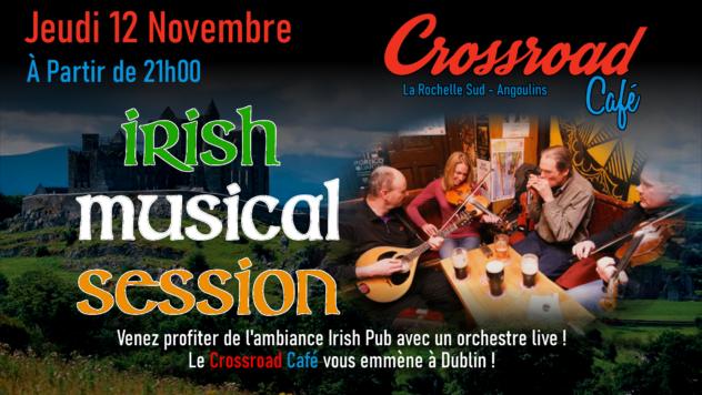 Irish Musical Session de Novembre 2020